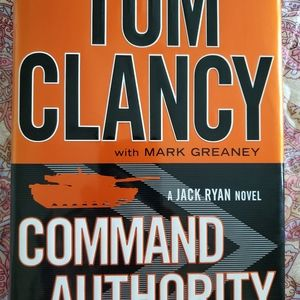 Command Authority by Tom Clancy, book hardcover